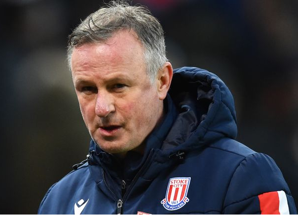 Stoke manager Michael O'Neill tests positive for Covid-19