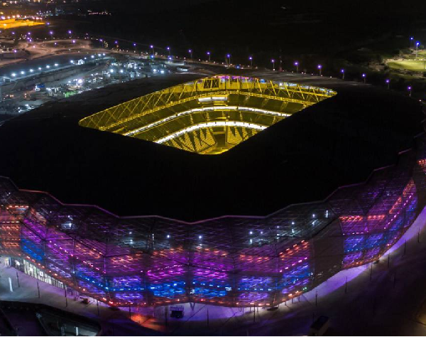 Qatar unveils third 2022 FIFA World Cup tournament Stadium