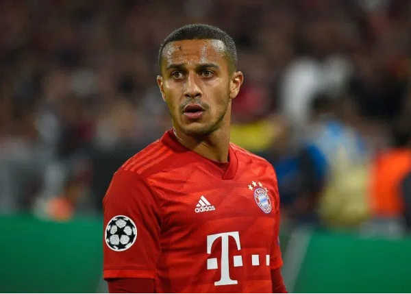Thiago out of Bayern's remaining Bundesliga games after undergoing surgery
