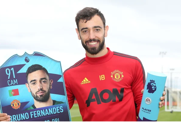 Fernandes named Premier League player for the month of June