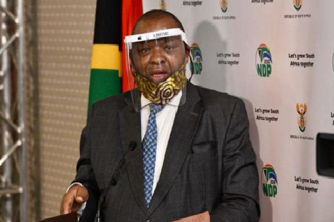 South Africa minister tests positive for coronavirus