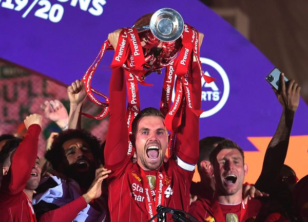 Liverpool captain Henderson wins FWA Footballer of the Year award