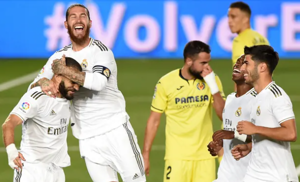 Real Madrid win 34th La Liga title