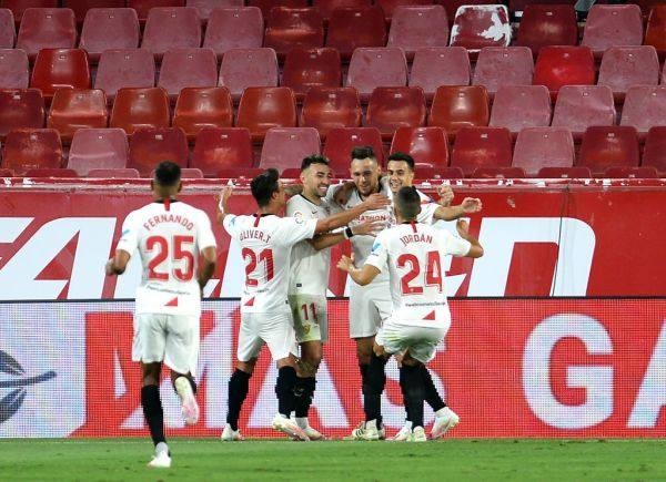 Sevilla secure Champions League return