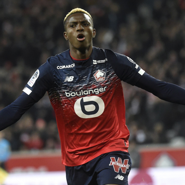 Napoli sign striker Victor Osimhen from Lille