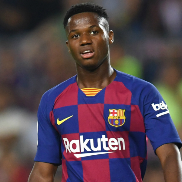 Fati suffers hip injury in Barcelona training