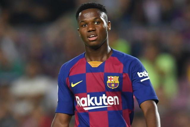 Fati suffers hip injury in Barcelona training