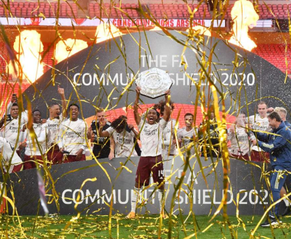 Arsenal are the 2020 FA Community Shield winners