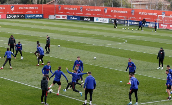 Atletico reveal two positive coronavirus tests ahead of Champions League quarter-final clash