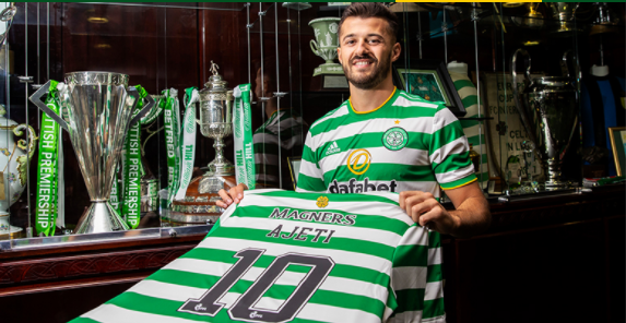 Ajeti joins Celtic from West Ham