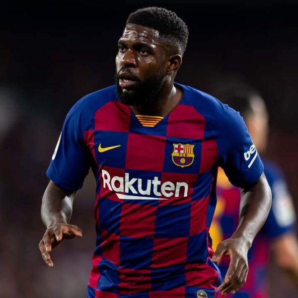 Barcelona defender Umtiti tests positive for Covid-19