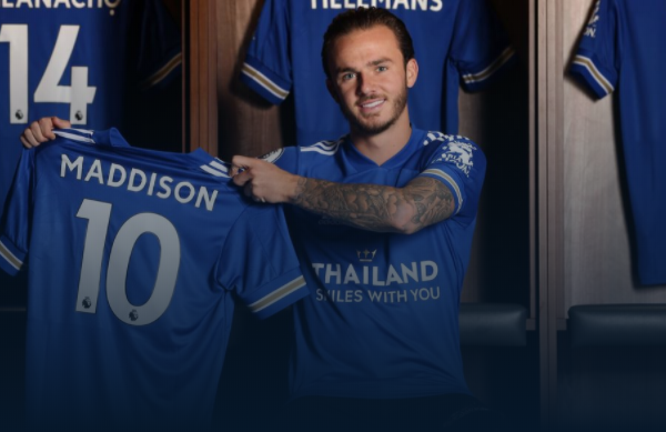 James Maddison signs a new Leicester City contract