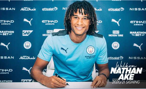 Manchester City sign Ake from Bournemouth