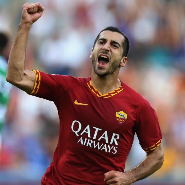 Mkhitaryan joins Roma on permanent deal