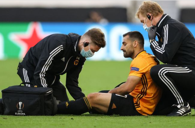 Wolves defender Jonny suffers ACL injury