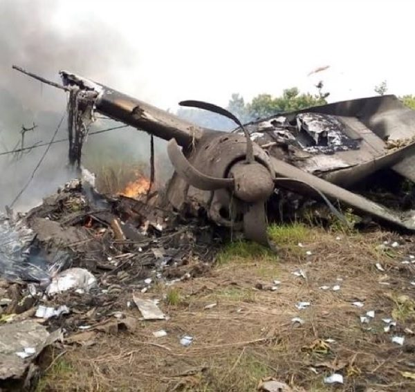 A cargo plane crashes off after take-off in Juba South Sudan