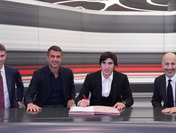 Tonali completes Milan initial loan move to AC Milan