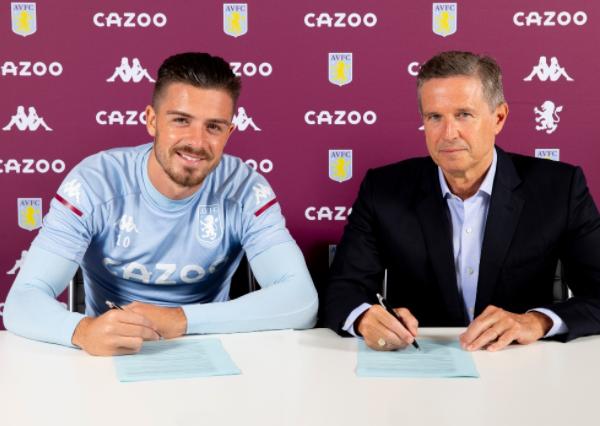 Grealish signs new five-year Aston Villa deal