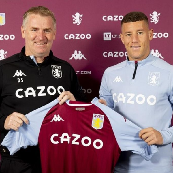 Aston Villa sign Ross Barkley on a season-long loan from Chelsea