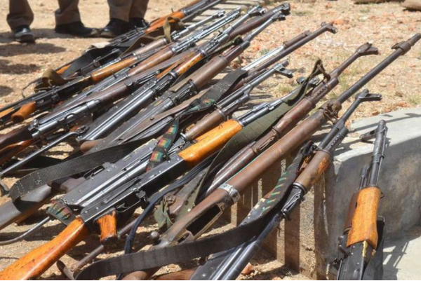 State recovers 350 illegal firearms in Marsabit in last three months