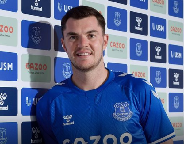 Everton defender Michael Keane signs a new five-year deal