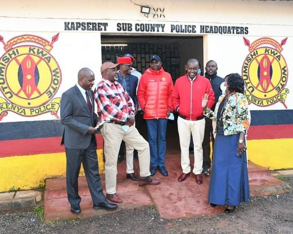 Kapseret MP Oscar Sudi surrenders to the police