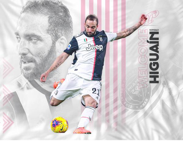 Inter Miami CF Signs Forward Gonzalo Higuaín