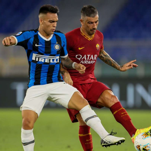 Inter sign Kolarov from AS Roma