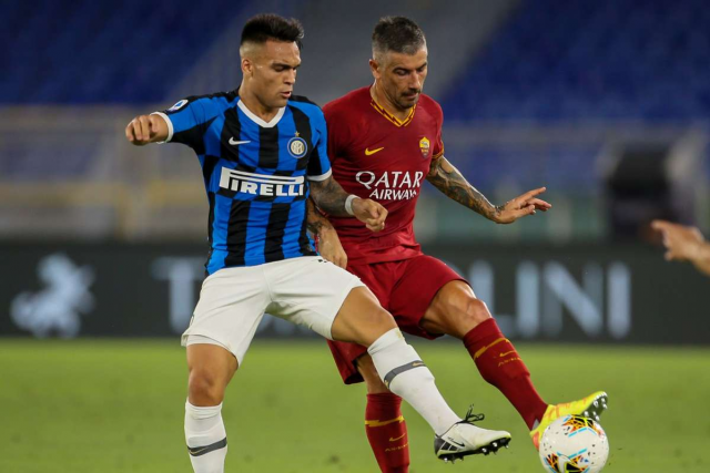 Inter sign Kolarov from AS Roma