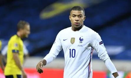 Kylian Mbappe tests positive for Covid-19