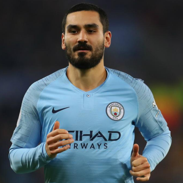 Manchester City midfielder Ilkay Gundogan tests positive for Covid-19