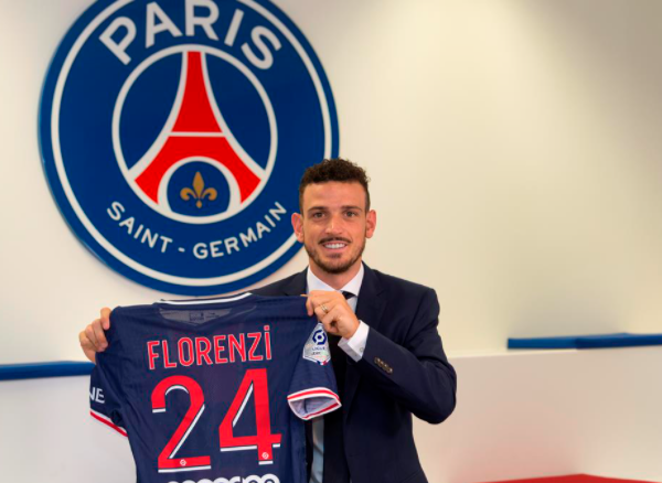 Paris Saint-Germain sign Alessandro Florenzi on loan from Roma