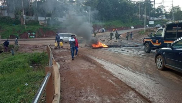 Protests erupt in Kisii ahead of DP Ruto's visit