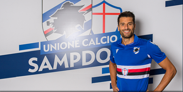 Serie A: Antonio Candreva leaves Inter Milan for Sampdoria