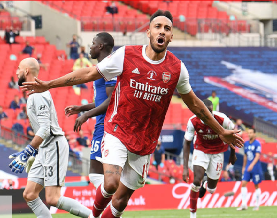 Arsenal captain Pierre-Emerick Aubameyang signs a new three-year contract