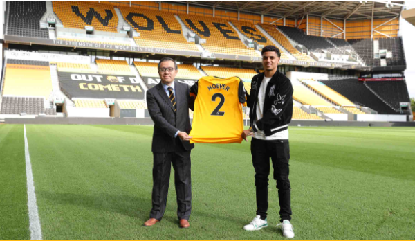 Wolves sign defender Ki-Jana Hoever from Liverpool
