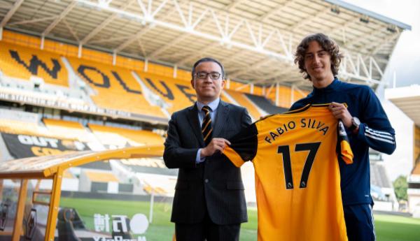 Wolves sign Fabio Silva from FC Porto
