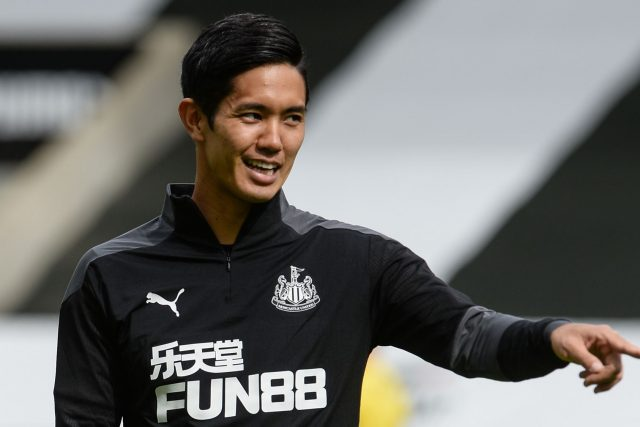 Newcastle forward Yoshinori Muto loaned to Spanish side Eibar