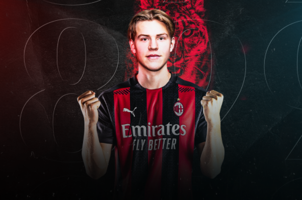 AC Milan sign striker Jens Petter Hauge from FK Bodø/Glimt