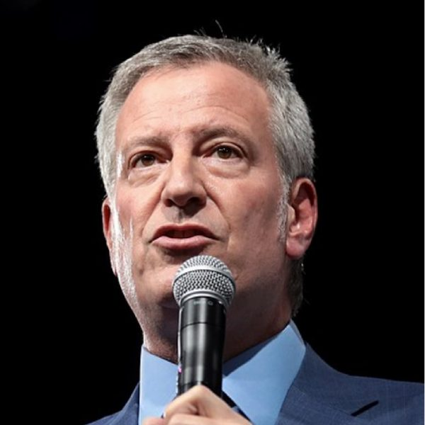Who will replace Bill de Blasio as the New York City Mayor?