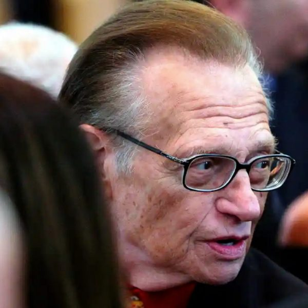 Larry King, the veteran TV show host is hospitalized with coronavirus
