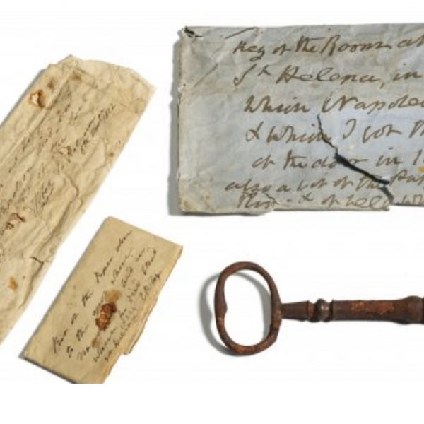 Key to room where Napoleon died found in Scotland