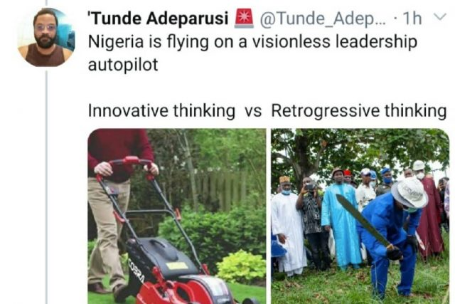 Nigerian Minister for Labor and employment criticized for distributing wheelbarrows as a means of empowerment