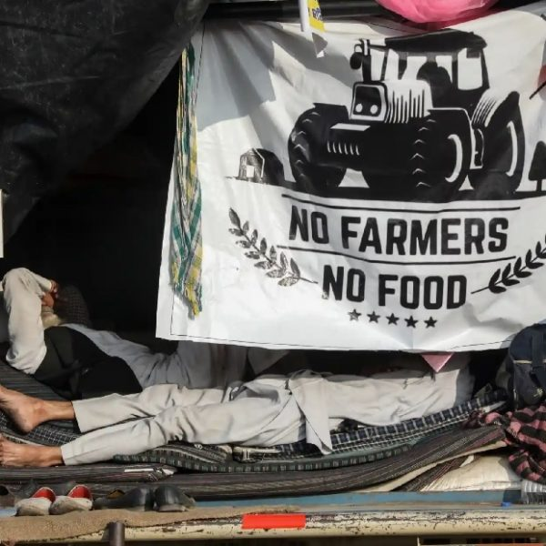 Indian farmers are protesting three laws affecting them directly