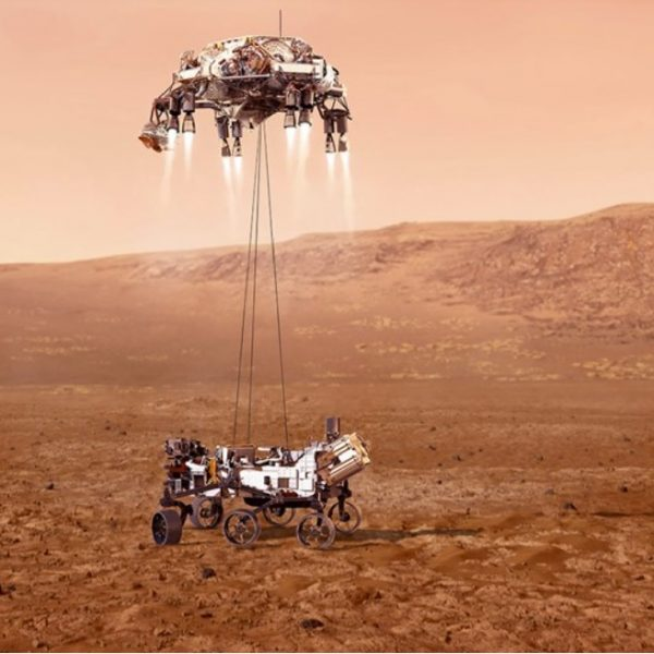 NASA successfully landed their rover, Perseverance, on mars in search of life
