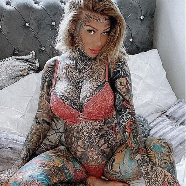 Meet the most tattooed woman in Britain