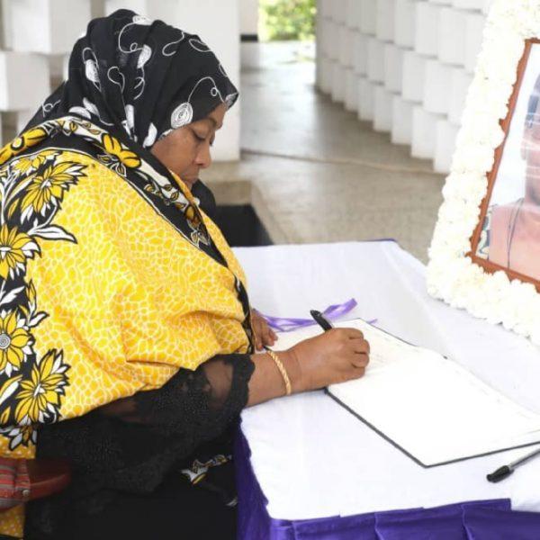 Samia Suluhu has been sworn in as the 6th President of Tanzania