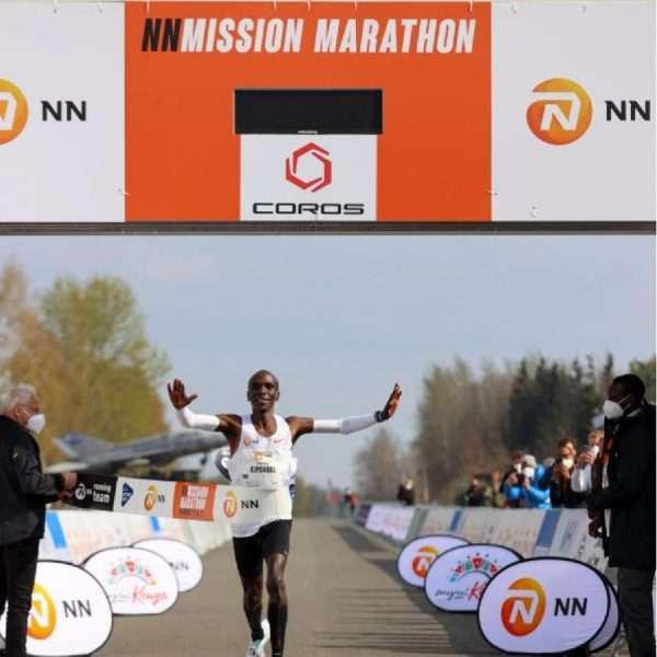 Eliud Kipchoge wins NN Mission Marathon in the Netherlands