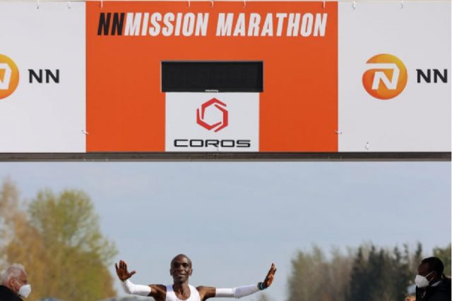 Eliud Kipchoge wins NN Mission Marathon in the Netherlands