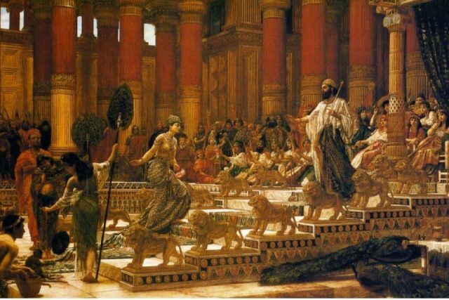 The Biblical King Solomon was a shipping tycoon